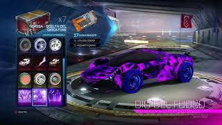 NON CI CREDO!!!Spacchettamento epico!Rocket League #2