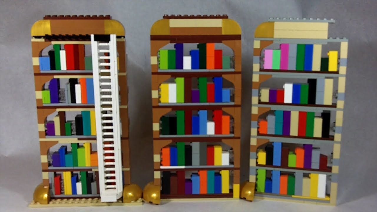 pin wall bookshelf pattern lego pieces brick ideas cool from made angled