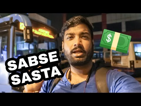 Cheapest Way To Reach Bangalore Airport | Airasia Review | Travelling Paaji In Bangalore EP 09