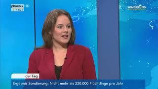 Jessica rosenthal (stellv. juso-bundesvorsitzende) im gespräch mit thomas bade zum ergebnis der sondierung. (vom 12.01.18)
