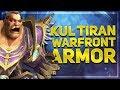 Kul Tiran Human - Darkshore Warfront Armor Preview | Battle for Azeroth 8.1