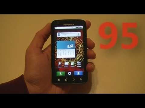Motorola ATRIX 4G: Fingerprint Scanner
