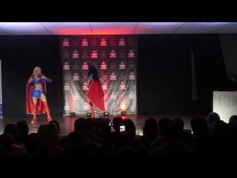 related image - Savoie Retro Games 2016 - Concours Cosplay Dimanche - 08 - DC Comics - Super Girl - Wonder Woman