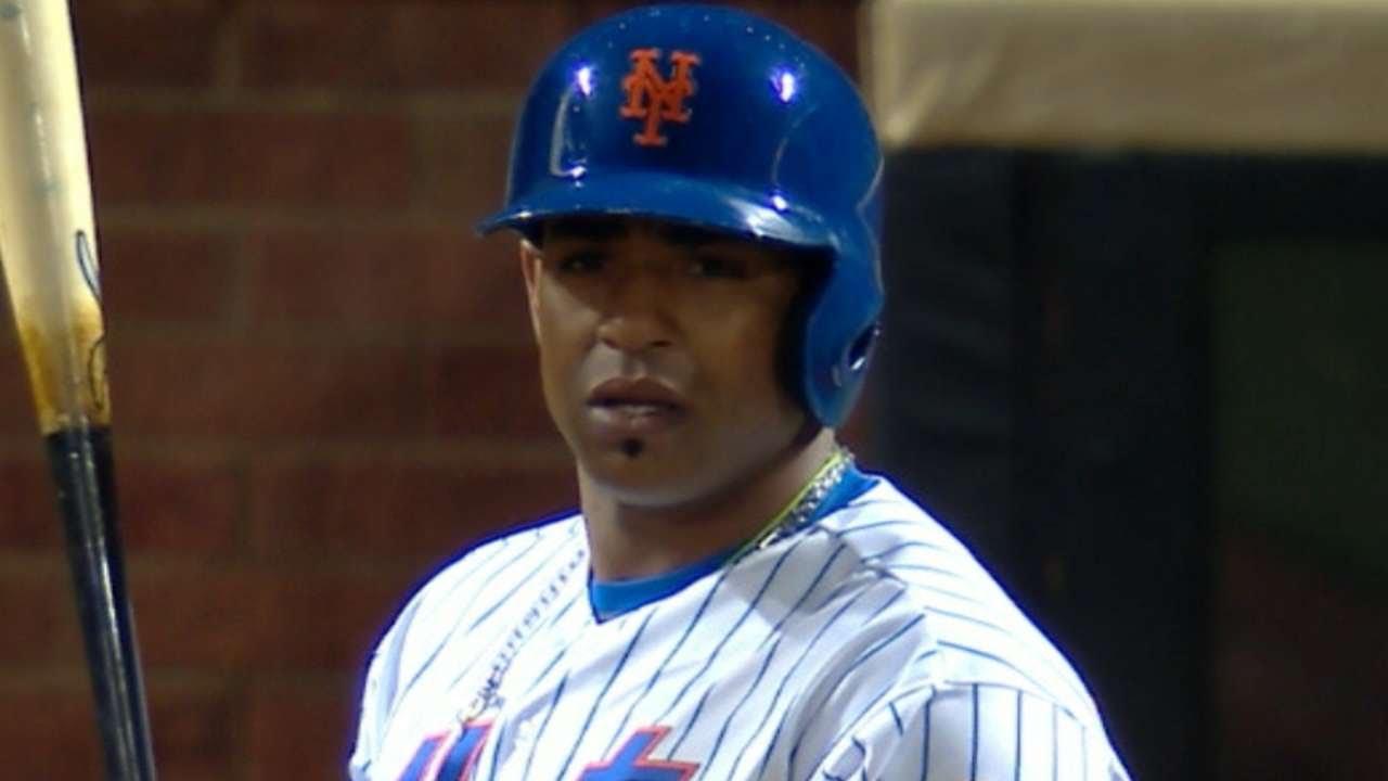 Mets' Yoenis Cespedes not at ballpark vs. Braves; team says ...