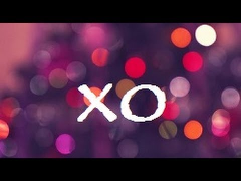 Beyonce - XO (Lyric Video) (Pink n Purple Theme)