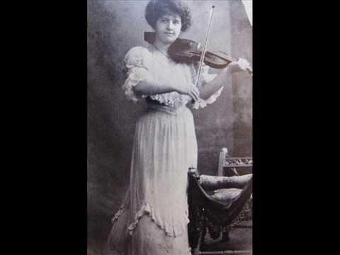 Adila Fachiri - Bach Partita in E BWV 1006 -- (iii) Gavotte en rondeau.
