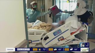 Hospitals report spike in live…