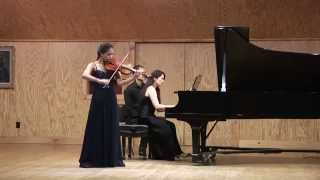 Wieniawski Violin Concerto No. 1 in F-sharp Minor, Kiarra Saito-Beckman