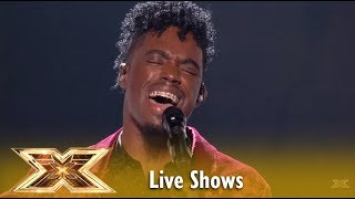 Dalton Harris Sings The BIGGEST SONG EVER LIVE TV! Incredible! Live Shows 2 | The X Factor UK 2018