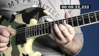 Unforgiven III Guitar Solo