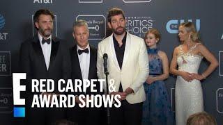 "John Krasinski Talks ""A Quiet Place"" Sequel   E! Red Carpet & Award Shows"