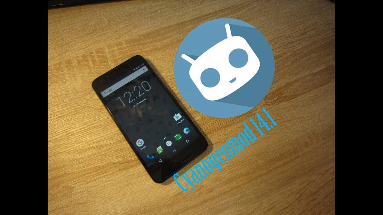 CyanogenMod 14 1 on Nexus 5X - Android 7 1 Nugat