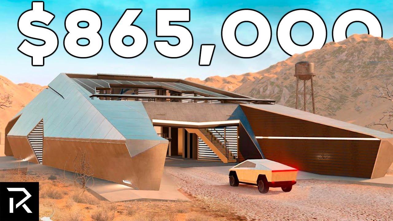Inside Elon Musk's Cyberhouse Bunker