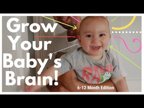 BABY PLAY HOW TO PLAY WITH 6-12 MONTH OLD BABY BRAIN DEVELOPMENT ACTIVITIES