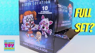 Sister Location Five Nights At Freddys Backpack Hangers Toy Review | PSToyReviews