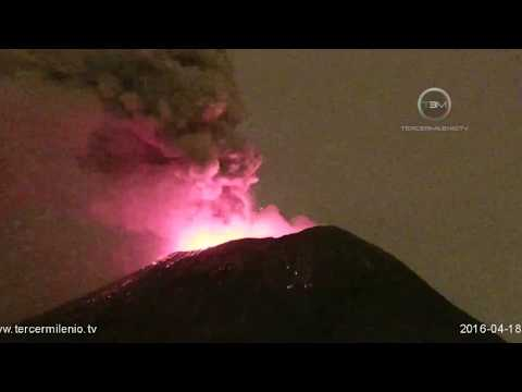Volcano 40 Miles Away From 20+ Million People Roars To Life
