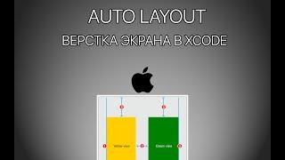 Урок 6 - Auto layout, Constraints Xcode - Верстка экрана iOS Приложения