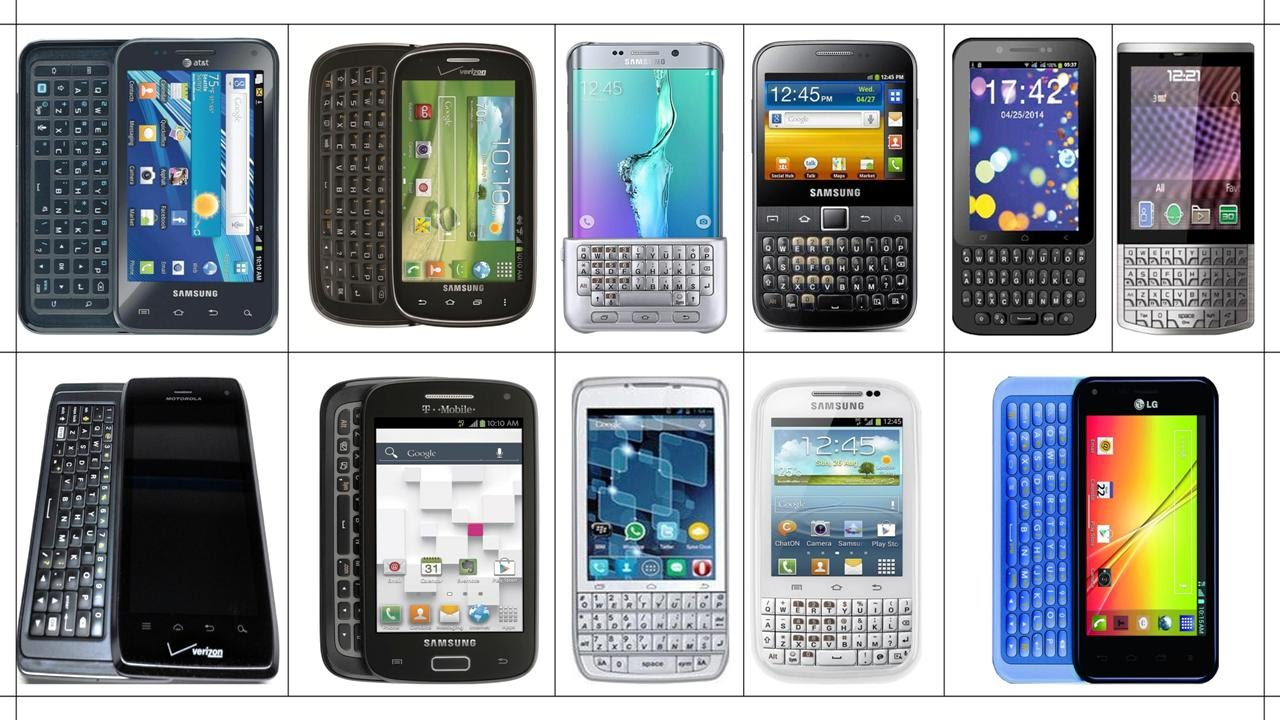 Camera Android Phone With Qwerty Keypad android smartphones with qwerty keypad touch type youtube type