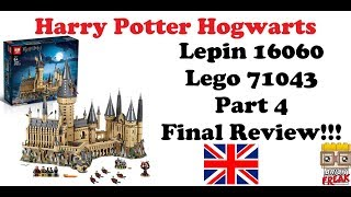 Harry Potter Hogwarts Castle - Part 4 Final Review - Lepin 16060