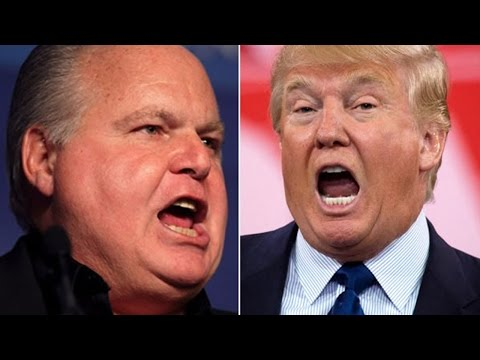 Rush Limbaugh Is Really Confused By Donald Trump