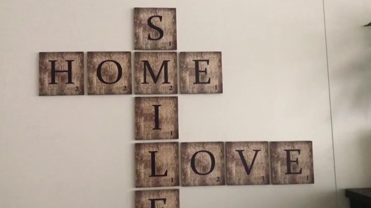 100 Fantastique Suggestions Comment Accrocher Des Lettres En Carton Au Mur