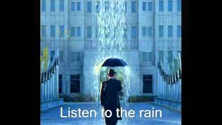 EVANESCENCE...Listen To The Rain ..  on screen lyrics