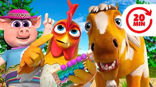 My Horse Has and More Zenon The Farmer Songs - Kids Songs & Nursery Rhymes