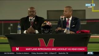 Maryland Football Introduces Head Coach Mike Locksley