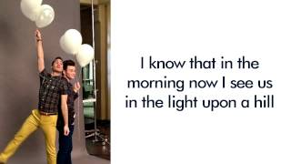 Glee - Story of My Life (Lyrics)