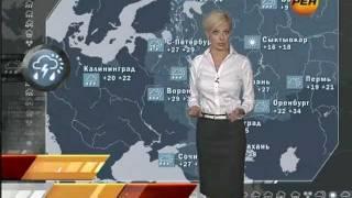 """Алена Дублюк - """"Новости 24. Погода"""" (15.08.11)"""