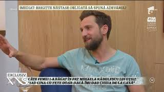 """Dani Oțil, lecția de burlăcie: """"Râsul duce la sex. Mihaela mi-a zis - Nu ești cine știe ce, dar..."""""""