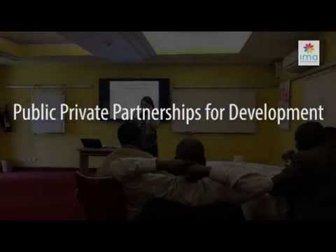 IMA International - Public Private Partnerships for Development - Cross Sector Collaboration
