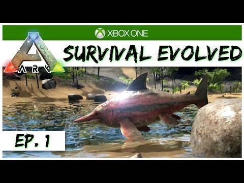 Ark Survival Evolved - Ep 1 - A New Survival! - Singleplayer Xbox One Gameplay - Let's Play