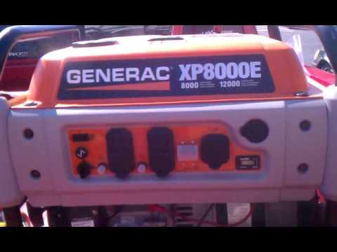 Generac xp8000 review youtube for Who makes generac motors