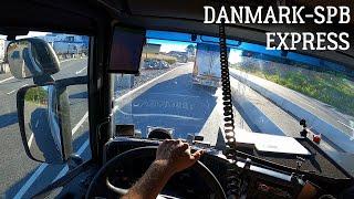 Non-Stop ❌Проходим границу по встречке    Danmark - SPB перевозка скоропортящийся продукции
