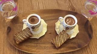 How to Make Turkish COFFEE-Kuru Kahveci Mehmet Efendi ☕️