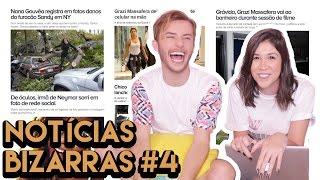 AS NOTÍCIAS MAIS BIZARRAS DO EGO ft. MAICON SANTINI | Foquinha