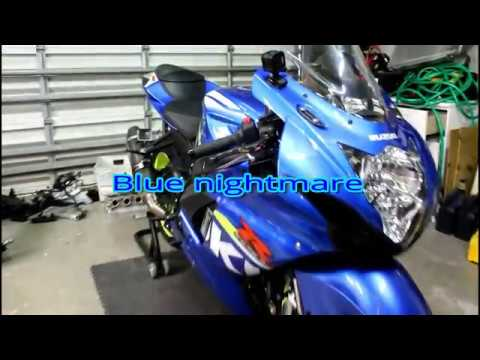 2015 suzuki gsxr 600 vs vanessa  (blue nightmare) return
