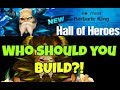 NEW Hall of Heroes Water Barbaric King (Aegir) and Why you SHOULD build Wind Barb King (Hraesvelg)