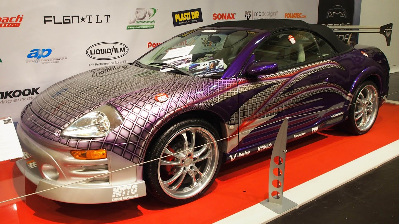 mitsubishi eclipse spyder gts 3 0l tuning 250 ps at essen