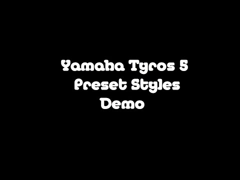 Tyros5 Demo - Pop & Rock Styles