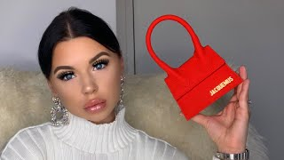 I AM SHOCKED ( BAD ) ! UNBOXING OF JACQUEMUS LE CHIQUITO ( Smallest luxury bag ) From luisaviaroma