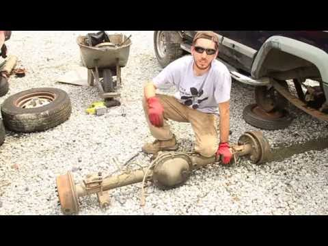 How To Remove an Axle at the Salvage Yard