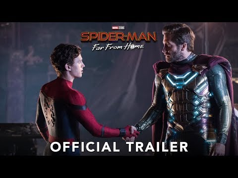 Spider-Man: Far From Home trailers