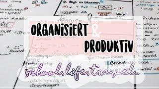 Organisiert & Produktiv sein.. Lernplan, Reisen.. ♥︎ Jackie Alice