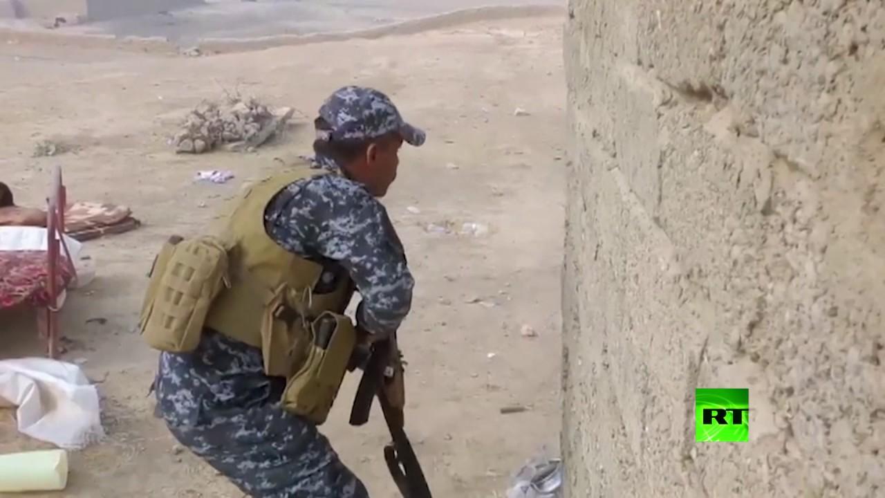قوات الشرطة الاتحادية العراقية تواجه مسلحي
