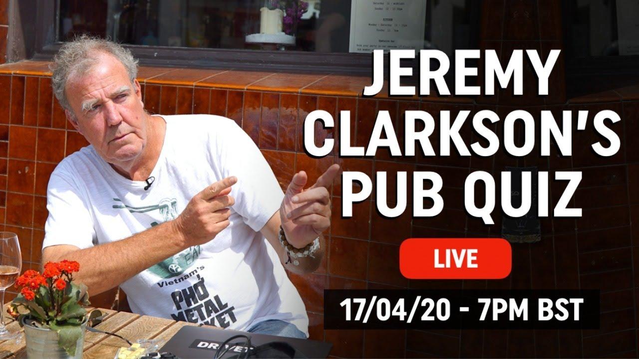 Jeremy Clarkson's Live Pub Quiz