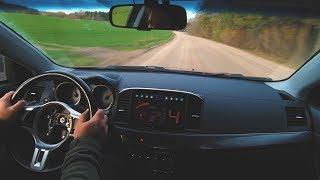 Mitsubishi Lancer Ralliart Sportback: 183 km/h Gravel Test