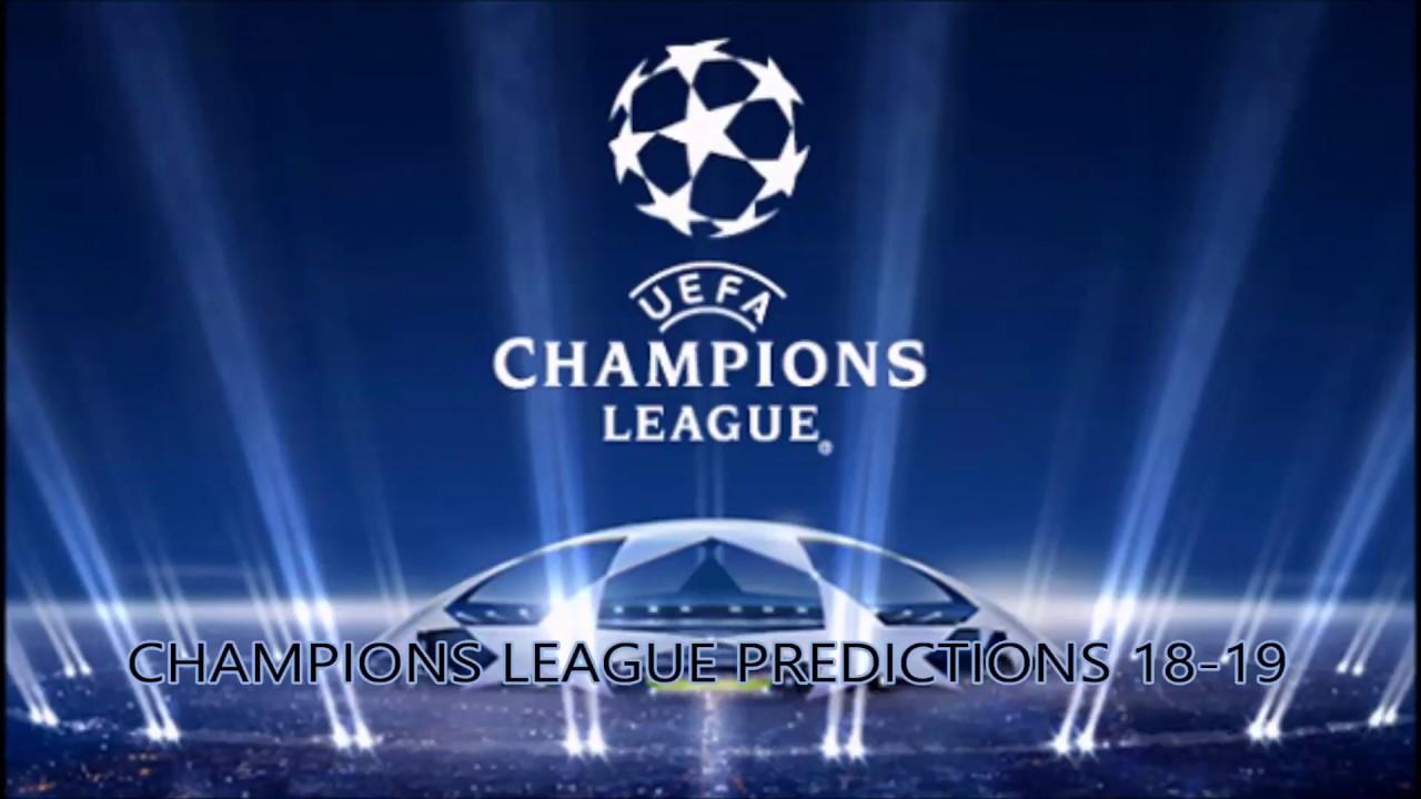 Champions League 2018 19 Pinterest: Champions League 2018-19 Predictions!
