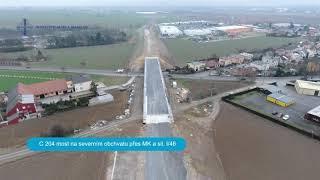 Silnice I/11 | Opava, severní obchvat - východní část prosinec 2018
